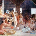 Mahaprabhu Cleaning Gundicha Temple